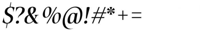 Plaisir Medium Italic Font OTHER CHARS