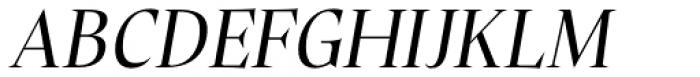 Plaisir Regular Italic Font UPPERCASE