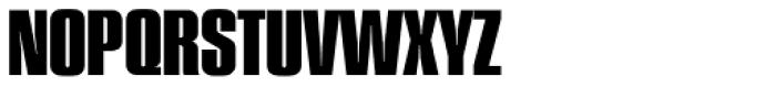 Plakette Serial ExtraBold Font UPPERCASE