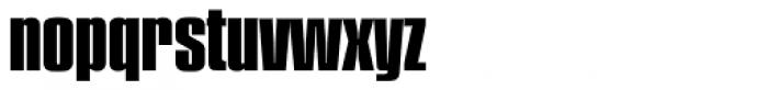 Plakette Serial ExtraBold Font LOWERCASE