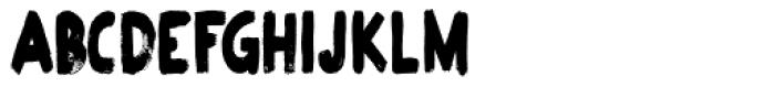 Plakkaat Condensed Font UPPERCASE