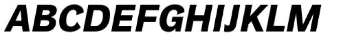 Plan Grotesque Std Bold Italic Font UPPERCASE