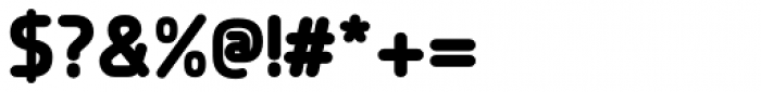 Planer ExtraBold Font OTHER CHARS