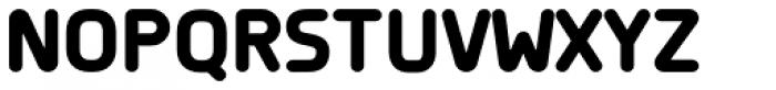 Planer ExtraBold Font UPPERCASE