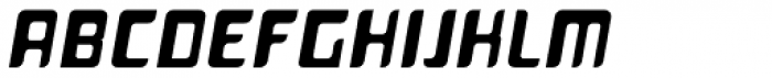 Planetor Bold Italic Font UPPERCASE