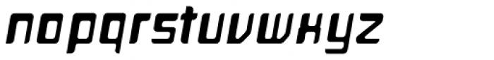 Planetor Bold Italic Font LOWERCASE