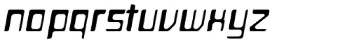 Planetor Light Italic Font LOWERCASE