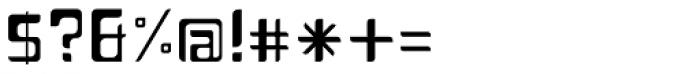 Planetor Light Font OTHER CHARS