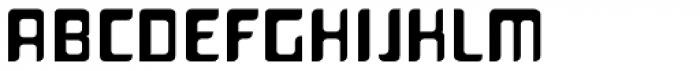 Planetor Regular Font UPPERCASE