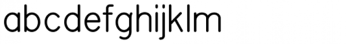 Planscribe NF Font LOWERCASE