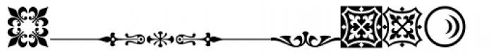 PlantagenetORNT Font UPPERCASE