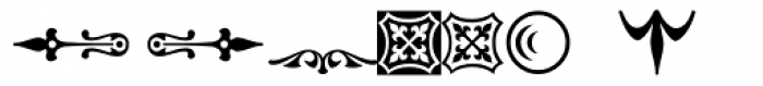 PlantagenetORNT Font LOWERCASE