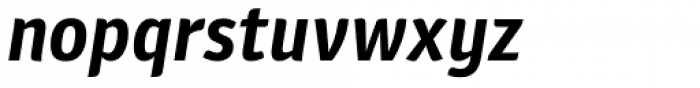 Plantago Bold Italic Font LOWERCASE