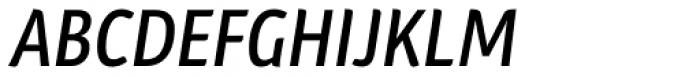 Plantago Condensed Medium Italic Font UPPERCASE