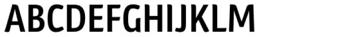 Plantago Condensed Semibold Font UPPERCASE