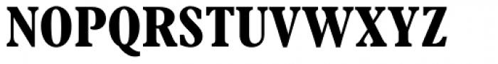 Plantin Bold Condensed Font UPPERCASE