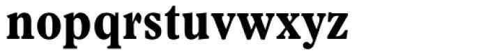 Plantin Bold Condensed Font LOWERCASE