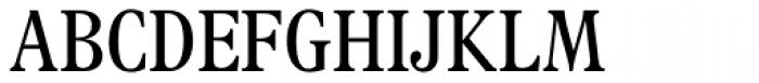 Plantin Headline MT Light Cond Font UPPERCASE