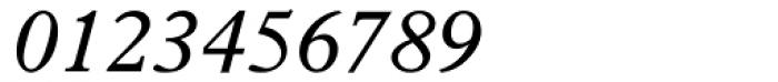 Plantin Italic Font OTHER CHARS