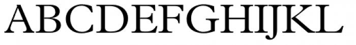 Plantin Light Font UPPERCASE
