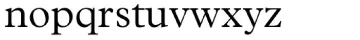 Plantin Light Font LOWERCASE