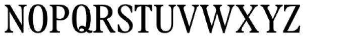 Plantin Pro Headline Light Condensed Font UPPERCASE
