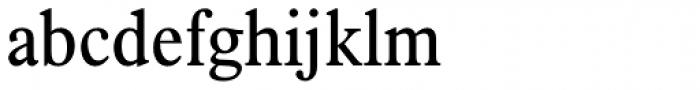 Plantin Pro Headline Light Condensed Font LOWERCASE