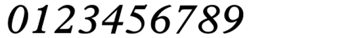 Plantin SemiBold Italic Font OTHER CHARS