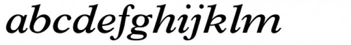 Plantin SemiBold Italic Font LOWERCASE