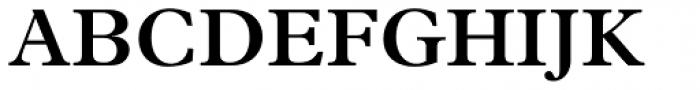 Plantin SemiBold Font UPPERCASE