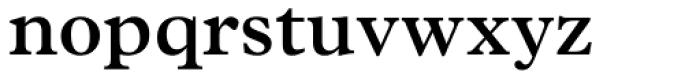 Plantin SemiBold Font LOWERCASE