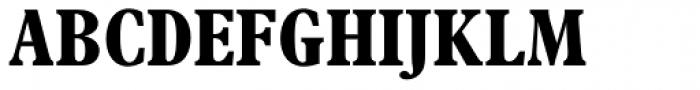 Plantin Std Bold Condensed Font UPPERCASE