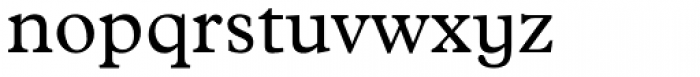 Plantin Std Infant Font LOWERCASE