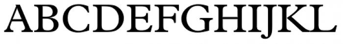 Plantin Font UPPERCASE