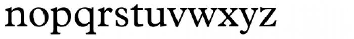 Plantin Font LOWERCASE
