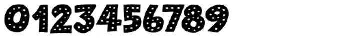 Plastic Fantastic Dots Regular Font OTHER CHARS