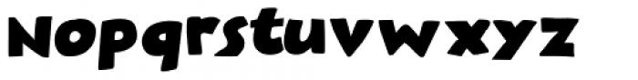 Plastic Fantastic Regular Font LOWERCASE