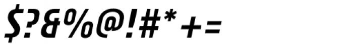Plastik Italic Font OTHER CHARS