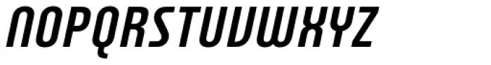 Plastik Italic Font UPPERCASE