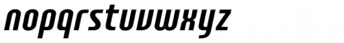 Plastik Italic Font LOWERCASE