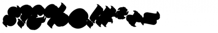 Platanos Shadow Font OTHER CHARS
