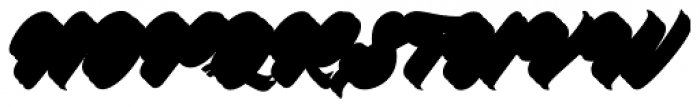 Platanos Shadow Font UPPERCASE