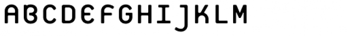 Platelet Regular Font UPPERCASE