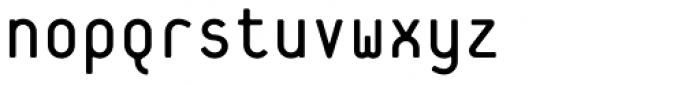 Platelet Regular Font LOWERCASE
