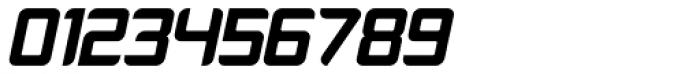 Platform One Black Italic Font OTHER CHARS