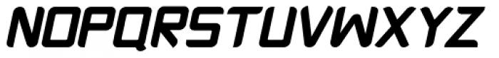 Platform One Black Italic Font UPPERCASE