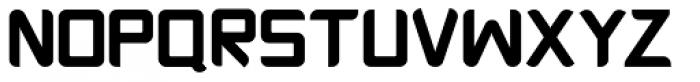 Platform One Black Font UPPERCASE