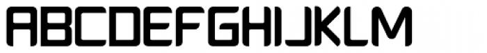 Platform One Bold Font UPPERCASE