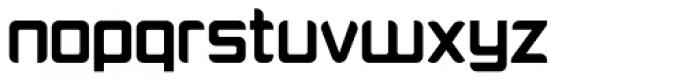 Platform One Bold Font LOWERCASE