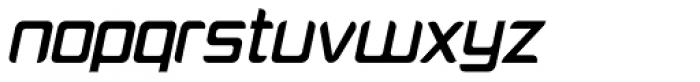 Platform One Medium Italic Font LOWERCASE